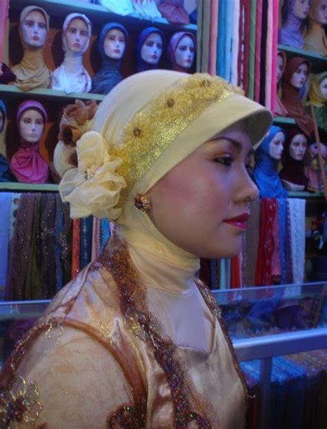 Kreasi Jilbab Pesta safirah kreasi jilbab pesta
