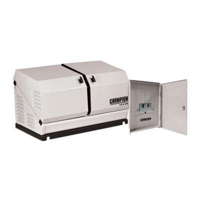 kohler 20 000 watt air cooled standby generator with 100