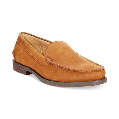 polo ralph loafers polo ralph kristofer loafers in brown for