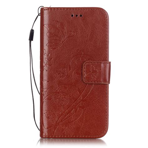 Iphone 5 5s Se Leather Flip Cover Wallet Dompet Kulit Casing for iphone 5 5s se 6 6s wallet cover stand leather