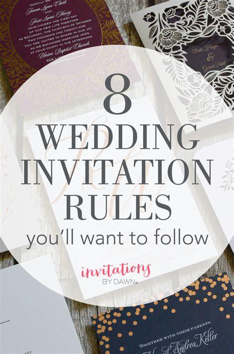 wedding invitation design rules wedding invitation design rules gallery invitation
