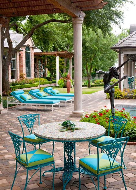 Green Patio Furniture Photo Page Hgtv