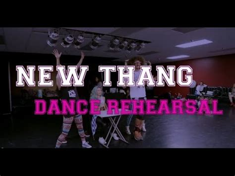 tutorial dance new thang redfoo new thang dance rehearsal youtube