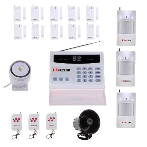 pisector s02 wireless home security alarm system kit auto