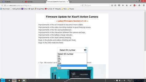 xiaomi yi custom firmware tutorial xiaomi yi firmware mirror site archive 1 2 13 and