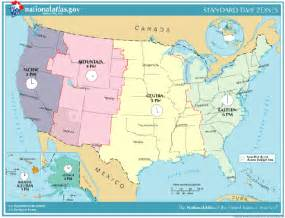 us time zone map with daylight savings in the u s time zones and daylight saving time