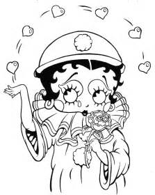 betty boop coloring pages free printable betty boop coloring pages for