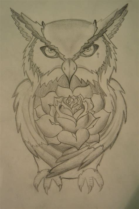 owl tattoo designs drawings owl tattoo design by cr0wdedmind on deviantart