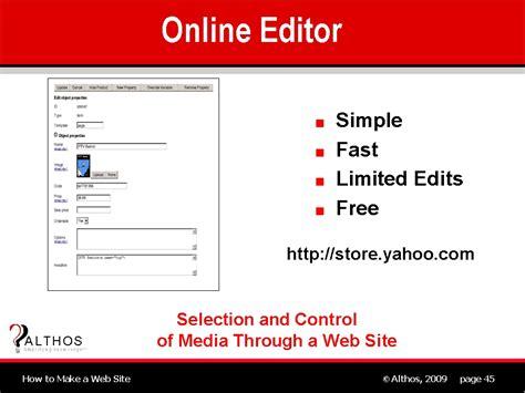 html design editor online web site design online editor