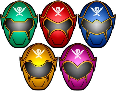 printable power ranger mask template power rangers super megaforce masks by kalel7 on