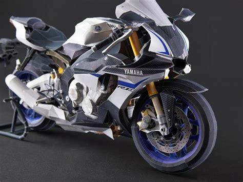 Yamaha Papercraft Motorcycle - motorcycle papercraftsquare free papercraft