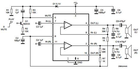 tda7265 lifier circuit diagram tda7265 lifier circuit diagram circuit and schematics