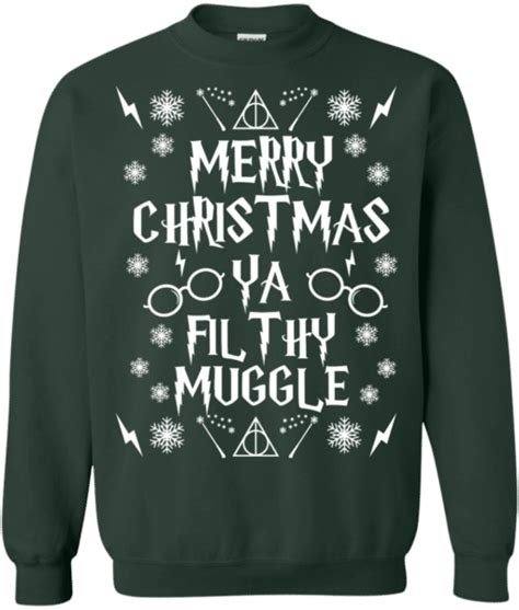 Sweater Harry Potter Muggle harry potter ya filthy muggle sweater for the wholesale t shirts