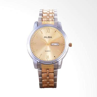 Alba Kombinasi jual jam tangan alba gold pria harga promo mei