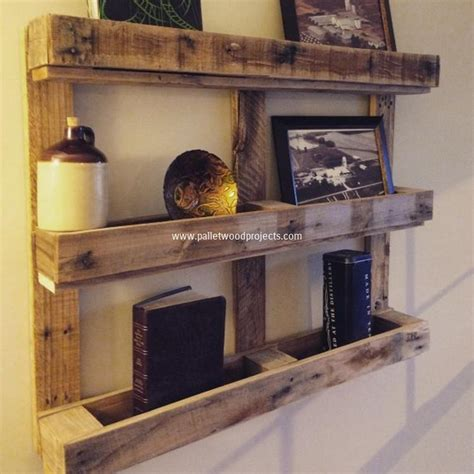 woodworking projects shelves its easy to create wooden pallet shelves pallet wood