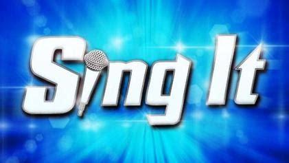 Sing It sing it