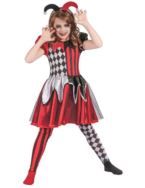 Evil Harlequin Costume for Children: Kids Costumes,and