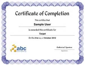 And branded certificate of completion notifications are sent to