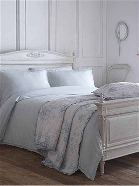 shabby chic bed linen uk shabby chic blue vintage lace bed linen house of fraser