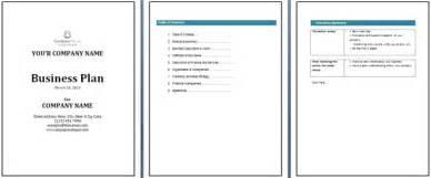 Office Business Plan Template Business Plan Template Office Templates Online