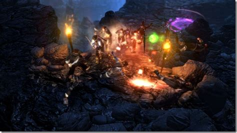 dungeon siege series all about dungeon siege iii from obsidian entertainment