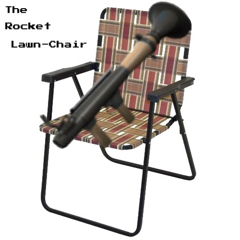 Lawn Chair Never Forget by The Amazing Rocket Lawn Chair Team Fortress 2 Sprays