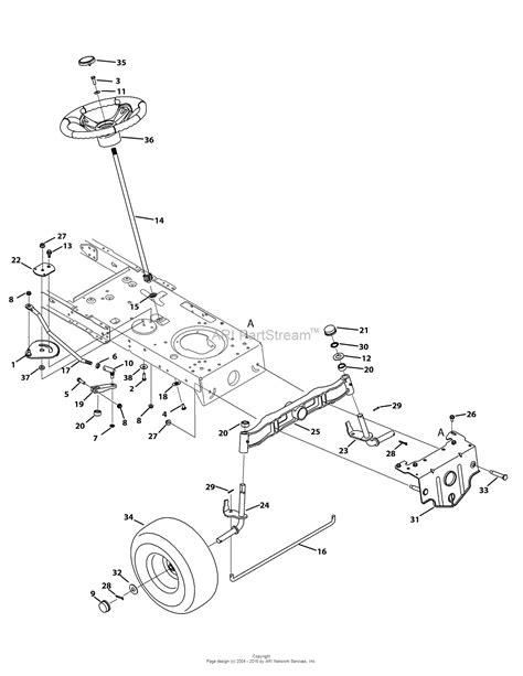 troy bilt 13yx79kt011 xp 2015 parts diagrams