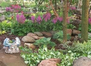 Rock Garden Plants For Shade Landscape Design Landscaping Gardens Shade Garden Hostas Perennials Rock Garden Wisconsin