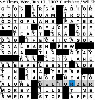 dominant theme crossword clue rex parker does the nyt crossword puzzle wednesday jun