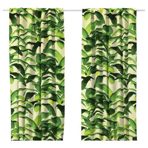banana leaf curtains 17 best images about curtains on pinterest green banana