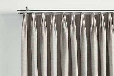 traverse rods curtains master bedroom tailored pleat drapery on traverse rod