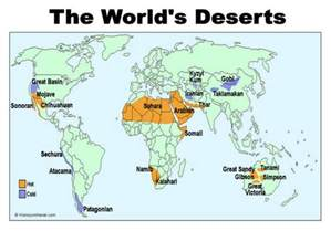 World Map Deserts by Arabian Desert Map Location Arabian Subtropical 2 6