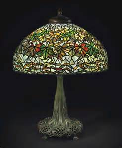 Decent results at christie s masterworks by tiffany studios a