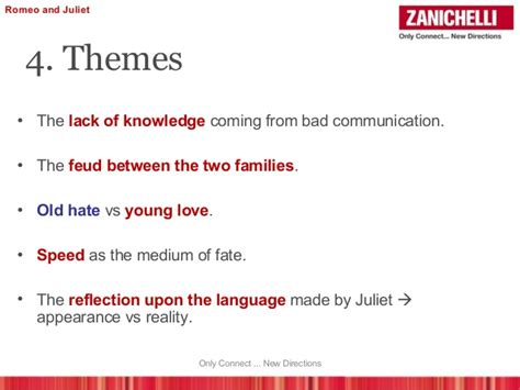 list themes of romeo and juliet romeo and juliet powerpoint template funkyme info