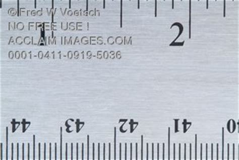 stock photo   ruler inches  centimeters