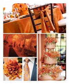 Orange Color Theme by Orange Color Wedding Ideas For 2014 Fall Wedding Party