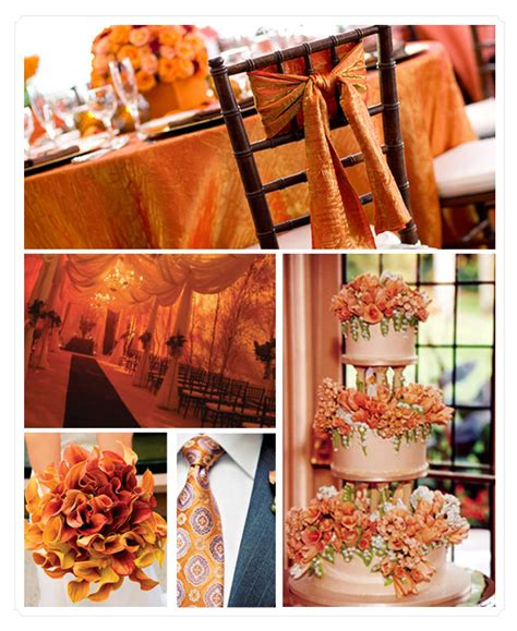 orange color theme orange color wedding archives happyinvitation com