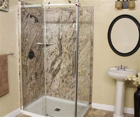 tiled panels bathroom awesome 30 tiled shower vs fiberglass design inspiration
