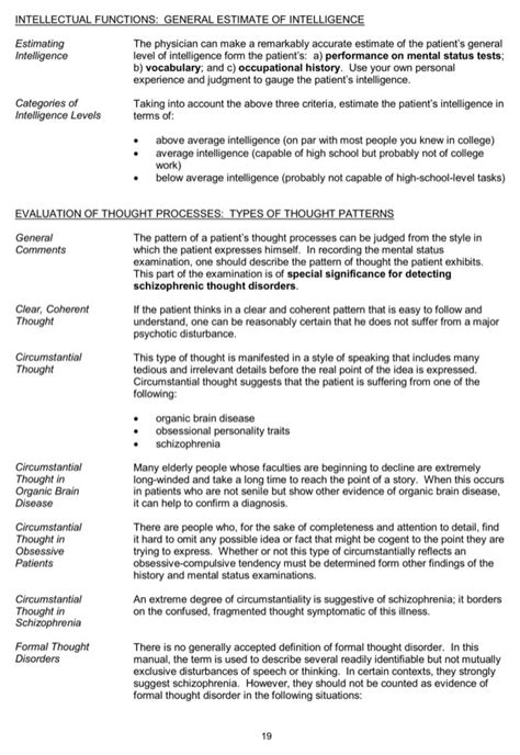 Download Psychiatric History Evaluation Form For Free Page 19 Formtemplate Psychiatric H P Template