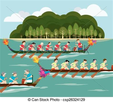 clipart of boat race dragon boat race clipart collection
