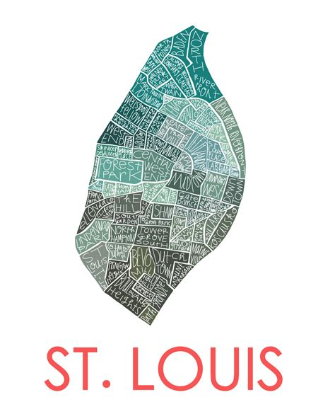 st louis neighborhood map st louis city neighborhood map razblint