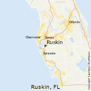 ruskin florida map best places to live in ruskin florida