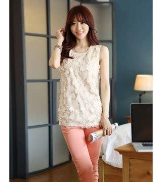 Ready Best Seller Rip Manset Murah Atasan Blouse Cewek baju atasan wanita lengan buntung model terbaru jual murah import kerja