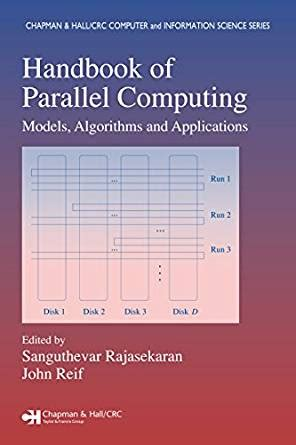 crc handbook of tables for order statistics from inverse gaussian distributions with applications books handbook of parallel computing models algorithms and