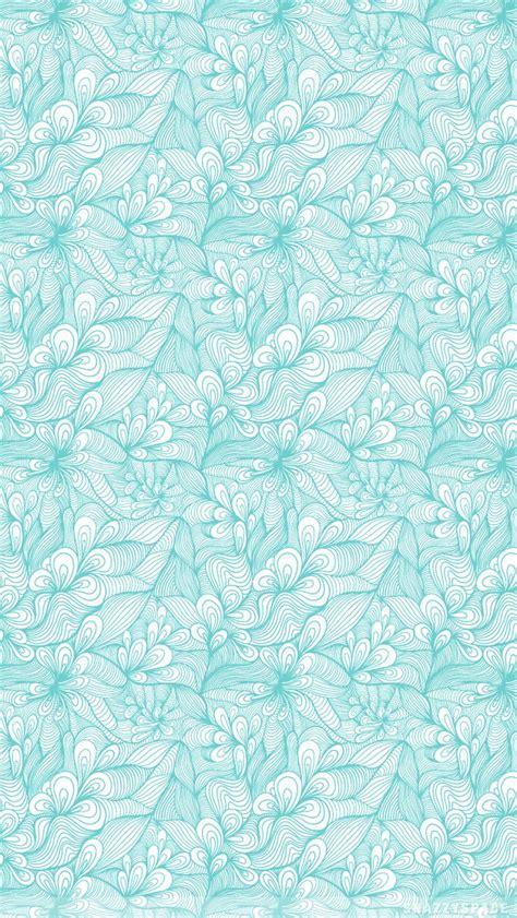 tumblr iphone wallpaper pattern teal floral pattern iphone wallpaper