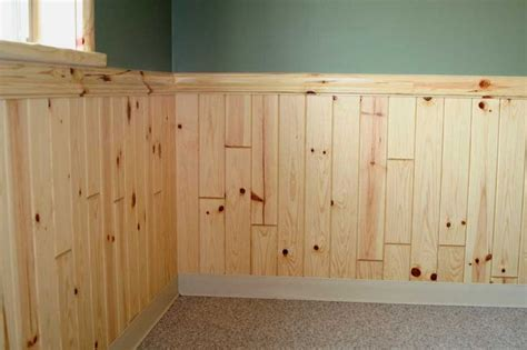 Knotty Pine Wainscot discover and save creative ideas