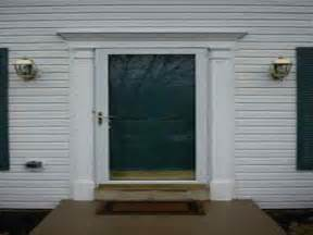 exterior door moulding how to repairs top exterior door trim kits how to