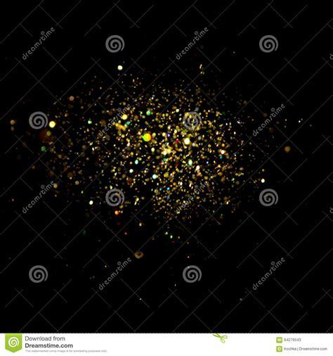 glitter vintage lights background dark gold and black christmas card stock photo image 64276543