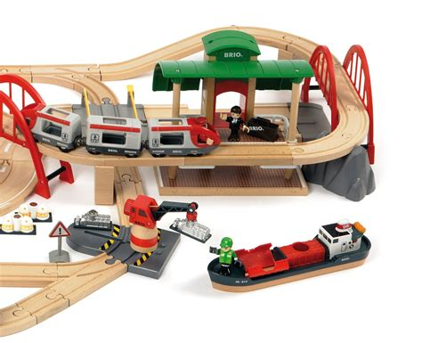 Brio Set brio deluxe railway set the granville island company
