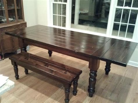 Extendable Table With Matching Bench Using Osborne Table